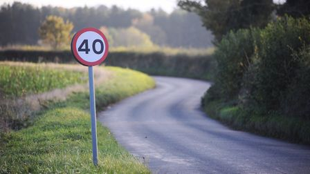 Suffolk Constabulary are looking to curb the number of speeding drivers on the county's roads. Pictu