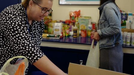 St Matthias school staff saw a surge in parents requesting food bank vouchers so decided to open the