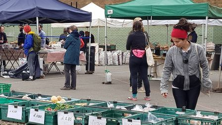 Parliament Hill Farmers' Market has remained open throughout lockdown. Picture: Parliament Hill Farm