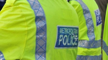 A police officer was stabbed on Friday. Picture: Met Police