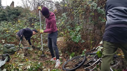 Choice In Hackney provides contact-free gardeners to help people maintain their gardens. Picture: Ch