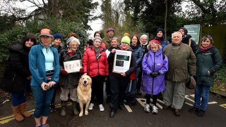 Campaigners from regular Heath users including swimmers, runners, dog walkers, residents and allotme