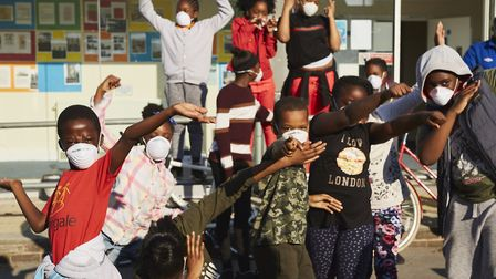 Immediate theatre works with community groups of all ages across Hackney and uses theatre to give pe
