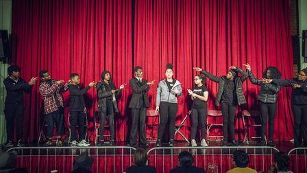 An Immediate Theatre performance at Wally Foster Community Centre in Homerton. Picture: Sean Pollock
