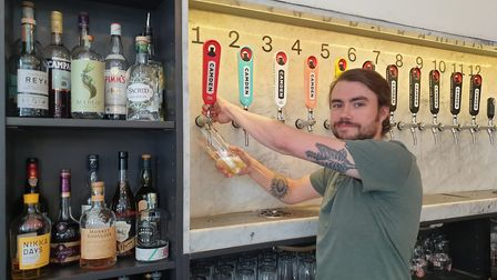 Milo Mulgrew, general manager of the Horseshoe in Heath Street. Picture: Harry Taylor