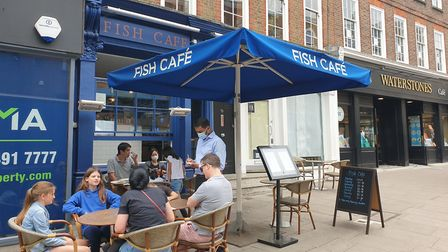 FIsh Cafe in Hampstead High Street. Picture: Harry Taylor