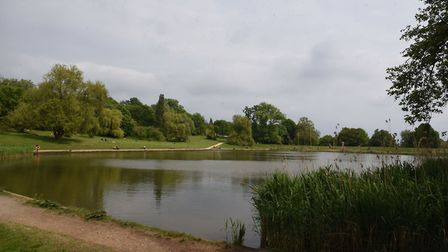 It is understood the stabbing happened near the Model Boating Pond. Picture: Ken Mears