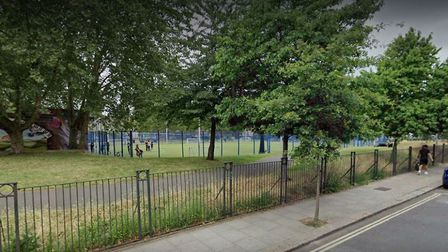 A 23-year-old man was shot in Castlehaven Park, police believe. Picture: Google Maps