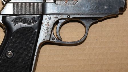 Drugs, cash and a gun have been seized during Operation Detroit. Picture: Met Police