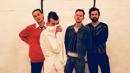 The 1975. Picture: Chuff Media