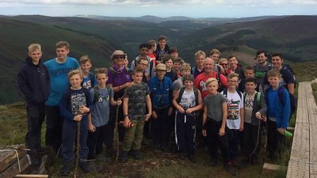 Scouts from Lowestoft travelled to Ireland for their summer camp. Picture: 14th Lowestoft scout grou