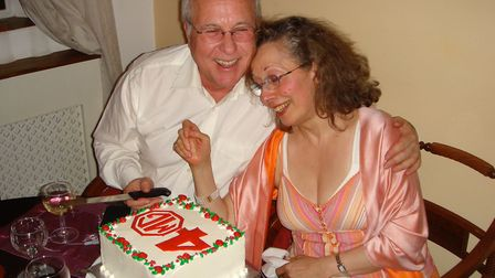 Michael Gottlieb, 73, died from coronavirus on April 17 at the Royal Free. Here he is pictured with