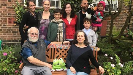 Family at Michael's and his wife Mili's 50th wedding anniversary in October 2018. Picture: Rivka Got