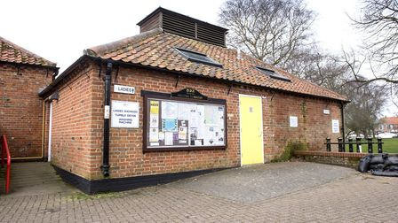 The public toilet block at Beccles Quay. Picture: Nick Butcher