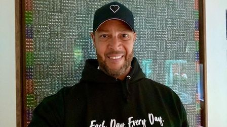 Ric Lewis, founder of The Black Heart Foundation. Picture: Submitted by Ric Lewis