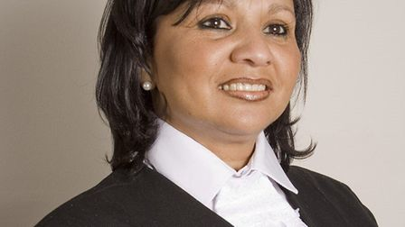 Judge Chantel Fortuin, the first black female judge in South Africa.