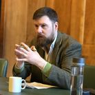 Cllr Jon Burke at an eco energy conference. Picture: Emma Bartholomew
