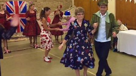 Harleston House care home organised a successful community tea dance. Pictures: Harleston House
