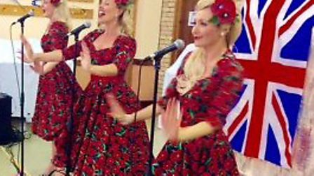 Harleston House care home organised a successful community tea dance. The Spinettes perform. Picture