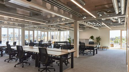 The workspaces have been designed to allow for maximum flexibility