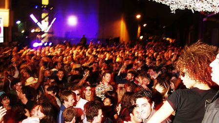 Secretsundaze party at Shoreditch Carnival in 2004. Picture: Secretsundaze