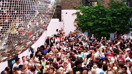 Secretsundaze has held parties for 20 years but more recently set up a record label and community st