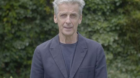 Peter Capaldi urges north Londoners to dig deep to support Noah's Ark Children's Hospice. Picture: P