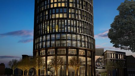 Art'�otel, Squire and Partners architects. Picture: Squire & Partners