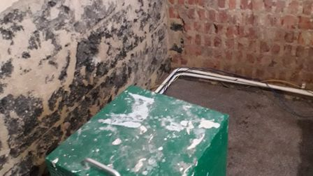 The resident dealt with the damp for over a year but the council says it fixed the leak in March and