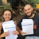 At Fortismere School, Catherine Cassidy achieved three A*s and Joe Glass got three As in their A Lev