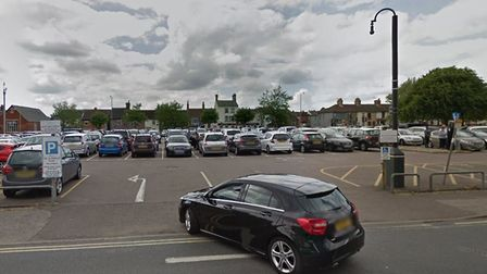 The car park on Clapham Road South in Lowestoft. Picture: Google