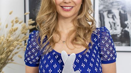 Channel 4's Countdown co-presenter Rachel Riley, 34, photographed ahead of the National Lottery Awar