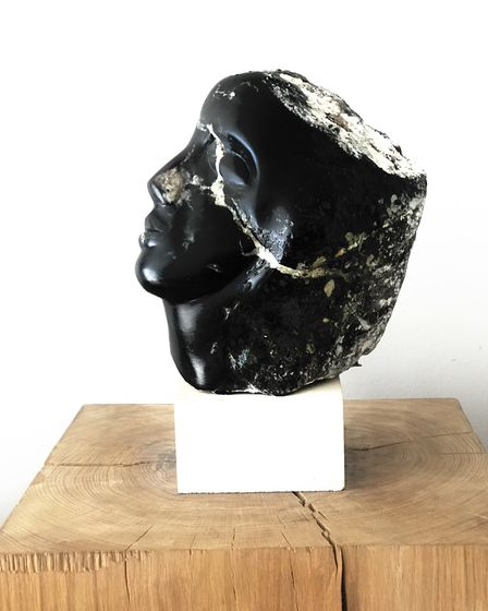 Fractured is one of the sculptures Ahuva made in lockdown.