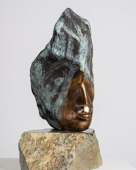 'Us', painted bronze-natural, £6,950.
