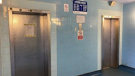 Both lift at Latimer House in Homerton were out of service for about two weeks and for that period s