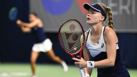 Harriet Dart in action at the UK Pro Series (Pic: Sports beat)