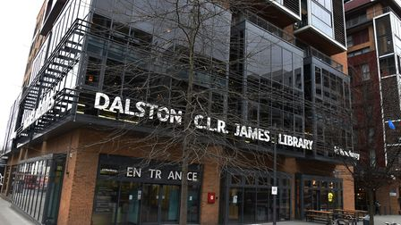 Dalston C.L.R James Library:Picture Ken Mears