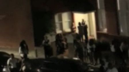 Police were called to a party in Belsize Park. Picture: Bernhard Raschke