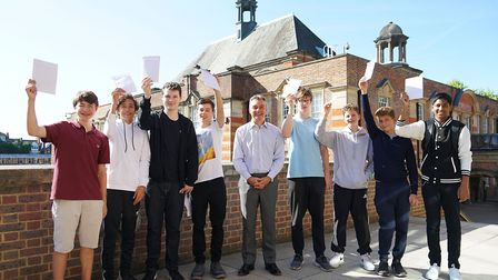 Students will be finding out their GCSE results today. Picture: UCS Hampstead