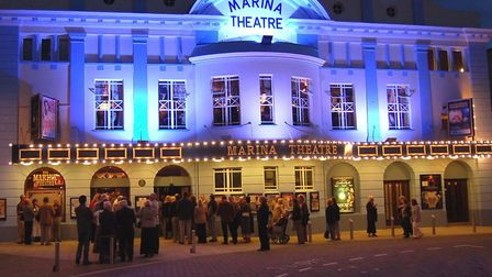 The Marina Theatre shows the latest films and stages live entertainment. Picture: Waveney District C