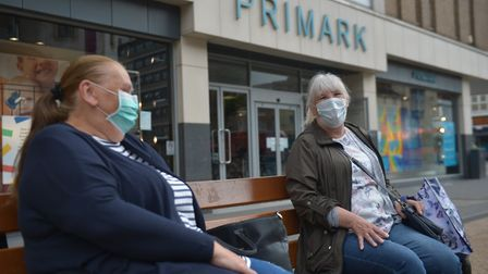 Not everyone is abiding by the law to wear masks in shops. Picture: PA