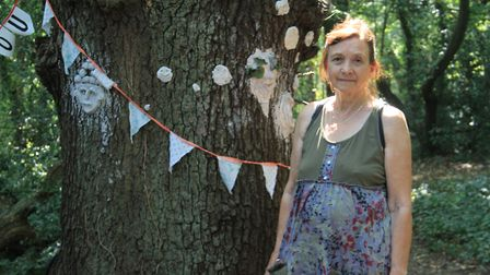Glenys Law, who started a petition against the trees being removed. Picture: Danny Halpin