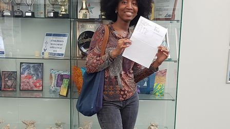 Our Lady's Catholic High School pupil Marie-Eunice Kouassi has got a place to study medicine Picture
