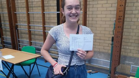 Alana got all 9s in her GCSEs at King Alfred's School. Picture: King Alfred's School