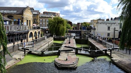 Hampstead Road Lock in Camden Town. Picture: Polly Hancock