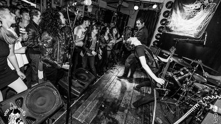One of the venue's gigs pre-lockdown. Picture: The Fiddler's Elbow