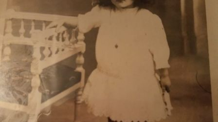Angela Hutor aged 4 in the early 1900s. Picture: Courtesy of the Hutor family