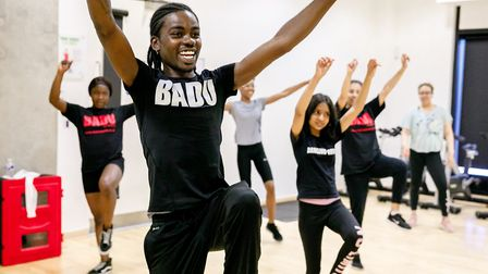 Local organisation Badu Sports, which is based in Olympic Park's Here East, hosted dance sessions in