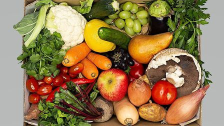 Streetbox is donating fruit and veg boxes to charity. Picture: Streetbox