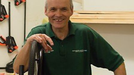 Homerton occupational therapy technician Glenn Ixer is retiring after working at the hospital for 38